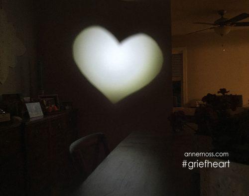 Spotlight heart